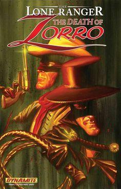 The Lone Ranger Zorro Death Of Paperback