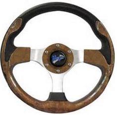 """shopcardinal.com MadJax 13"""" VOLT Series Steering Wheel Wood Grain MJVOLTW NIB Golf Cart Sale, $83.50 (http://www.cardinalsellingservices.com/madjax-13-volt-series-steering-wheel-wood-grain-mjvoltw-nib-golf-cart-sale/)"""