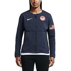 7cc10fa5672 Women s Sweatshirts - Nike Womens Team USA 2016 Authentic Olympics Tech  Fleece Red White Blue -- Check this awesome product by going to the link at  the ...