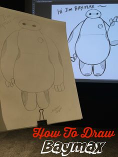 Inside The Making of Big Hero 6 and How to Draw Baymax from Big Hero 6.