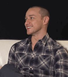 James McAvoy- UGH!! When he shave his head for a part in Split he definitely got my attention not that he didn't have it b4 that role!!