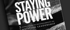 A Very Special Offer on My New Book: Staying Power: 5 Core Ideas To Sustainability In Christian Leadership If you purchase your copy today through September 30th, you'll also get a free download of my eBook 6 Steps To Building And Maintaining Unity In The Local Church! So don't delay and don't miss this offer. ORDER HERE --> http://kenlroberts.com/?page_id=622
