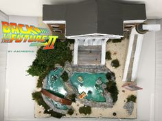 Back to the future Diorama, hill valley diorama, backtothefuture diorama, machegioia diorama, hillvalley diorama, hilla valley courthouse mall