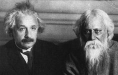 Einstein and Tagore Tagore, Bhagavad Gita, World Music, Best Model, Albert Einstein, Namaste, Mystic, Religion, Engineering