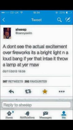 15 Scottish Tweets That Are Hilarious If You Can Decipher Them - FAIL Blog - Funny Fails Scottish Twitter, Scottish Tweets, Funny Fails, Funny Jokes, Hilarious, Funny Troll, Funny Minion, Funny Instagram Posts, Haha