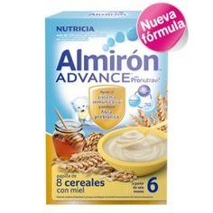 ALMIRON ADVANCE 8 CEREALES CON MIEL 600GR