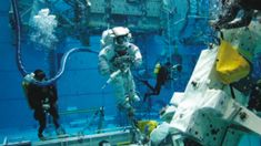 Learn how astronauts train for space using the Neutral Buoyancy Laboratory (NBL). Teacher Lesson Plans, Free Lesson Plans, Rock Cycle, Student Engagement, Upcoming Events, Habitats, Discovery, Foundation, Deck