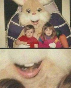Oh my god..... nightmares.... just look at the eyes it looks like the person wants to kill someone