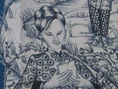 The Willow Pattern book on YouTube  Tells story that is illustrated on the Blue Willow plate. Have kids illustrate their favorite part of the story on a paper plate, then paint with tints and shades of blue.  Great for Chinese New Year