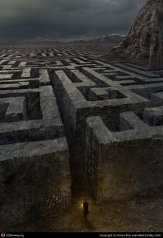 First trial: The Maze. You'll be placed at the entrance of a maze, once you step…