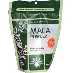 Navitas Organics, Organic Maca Powder, 16 oz g)- Maca powder is widely known to rebalance the hormones. When you have low progesterone, it produces more and when you over-produce cortisol, it helps to lower. Health Heal, Thyroid Health, Health And Nutrition, Health And Wellness, Health And Beauty, Health Fitness, Natural Cures, Natural Healing, Salud Natural
