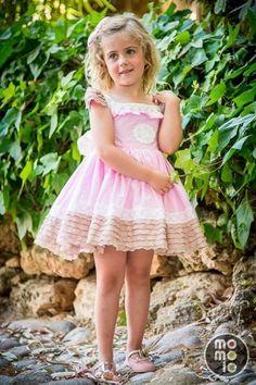 momolo.com red social  de #modainfantil  ➡️ #momolo  ⬅️ #kids #kidswear #streetstyle #streetstylekids #fashionkids #kidsfashion #niños #moda #fashion  MOMOLO | moda infantil |  Vestidos La Amapola, Mercedes La Amapola, niña, 20160131140627
