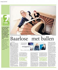 Newspaper Dagblad de Limburger, May 2012