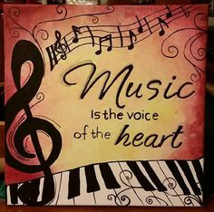 19 Ideas Music Painting Ideas Quotes For 2019 Music Painting, Music Artwork, Painting Quotes, Music Images, Music Pictures, Music Drawings, Music Crafts, Music Backgrounds, Music Wallpaper