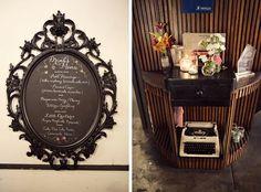 The Velvet Bow: Wedding: the reception set up