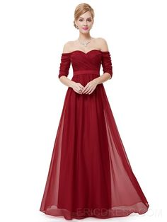 ericdress.com offers high quality  Ericdress Off-The-Shoulder Pleats Sashes Evening Dress Evening Dresses 2016 unit price of $ 33.47.