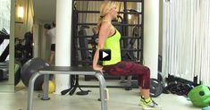Video/ Allenati con Federica Fontana: terminiamo gli esercizi per le braccia con i deep - Ecco il nostro nuovo programma di allenamento con Federica Fontana...
