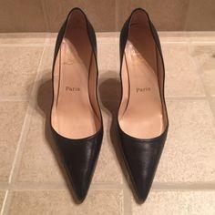 Christian Louboutin Pumps Authentic worn a few times Christian Louboutin Shoes Heels