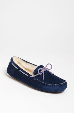 I'm going to need a pair of slippers for my new house and these look perfect!  UGG® Australia 'Dakota' Slipper (Women) | Nordstrom
