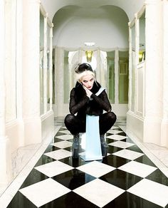 Dedicated to the eternally chic Daphne Guinness Daphne Guinness, Mode Grunge, Eccentric Style, Global Style, Shades Of Black, Stylish Girl, World Of Fashion, Passion For Fashion, Style Icons