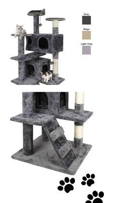 Domek dla kota ze słupkami do drapania, Cat house Cat Tree, Kittens, Pets, House, Cute Kittens, Home, Haus, Baby Cats, Kitty Cats