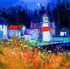 wee lighthouse at Crinan