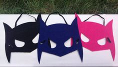 Mighty Batman Mask by NeverlandDesignsShop on Etsy Batman Mask, Crafts For Kids, Arts And Crafts, Superhero Capes, Christmas Ornaments, Sewing, Halloween, Holiday Decor, Grandkids