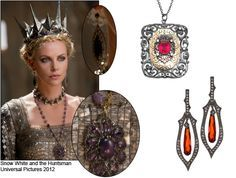 jewellery from snow white and the huntsman - Google Search