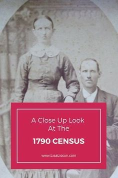 The 1790 census provides the earliest look at our ancestors in the census records. The 1790 census provides clues to our ancestor's family and neighborhood. #genealogy #censusresearch