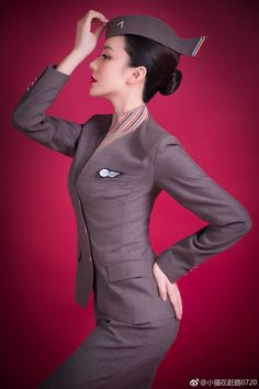 Airline Uniforms, Miss France, Jobs For Women, Girl Fashion, Fashion Outfits, Military Women, Cabin Crew, Flight Attendant, Ulzzang Girl