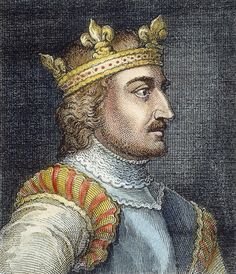 Stephen (reigned 1135-1154), often referred to as Stephen of Blois, was a grandson of William the Conqueror. He was King of England from 1135 to his death, and also the Count of Boulogne in right of his wife. Stephen's reign was marked by the Anarchy, a civil war with his cousin and rival, the Empress Matilda. He was succeeded by Matilda's son, Henry II, the first of the Angevin kings.