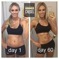 The Master's Hammer and Chisel before and after pictures | Coach Test group results