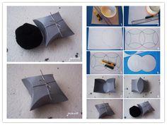 DIY Easy Geometric Gift Boxes --> http://wonderfuldiy.com/wonderful-diy-easy-geometric-gift-boxes/