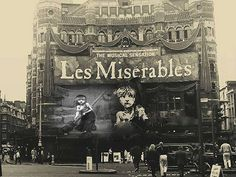 Longest Running musical Les Miserables Playing at Queens Theatre.