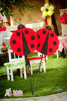 Ladybug Birthday Party Cumpleaños