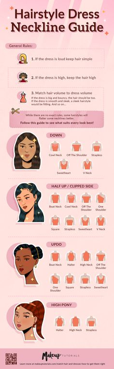 What are we still waiting for? Lets learn the age-old hairstyle tricks in the stylebook so youll look fabulous on your next day out. Old Hairstyles, No Heat Hairstyles, Sleek Hairstyles, Dress Hairstyles, Fashion Hairstyles, Vintage Hairstyles, Neckline Guide, Cool Braids, Necklines For Dresses