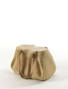 Buy online Mondana By riva cedarwood stool design Studio AMeBE Chair Design, Furniture Design, Tree Furniture, Plywood Furniture, Modern Furniture, Console Design, Wooden Bag, Low Stool, Wooden Stools