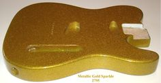 Beautiful Solid Ash Gold Sparkle Body For Fender Telecaster