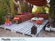 Verschillende ideeën om oude pallets te hergebruiken - Plazilla.com