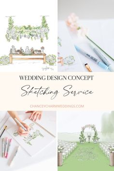 Are you a bride or groom with a wedding design vision in your head but you're having trouble describing exactly what you want to your wedding vendors?  We are here to help with our wedding design concept sketching service! We will turn your wedding design ideas and wedding inspiration into a sketch and digital rendering to share with your vendors so they will be able to fully understand, and execute your vision perfectly.  #weddingdesign #weddingdesignideas Wedding Vendors, Our Wedding, We Are Love, Wedding Designs, Wedding Planner, Groom, Wedding Inspiration, Place Card Holders, Concept