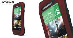 HTC One M7 und M8 360° allen Ecken und Seiten schützende Metallhülle - spitzekarte.com