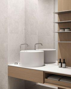 Guest bathroom #guestbathroom #modernbathroom #minimalisticbathroom #ideasforbathroom #minimalism #minimalisticarchitecture #minimalisticinterior #architecture #modernarchitecture #design #minimalisticdesign #bathroom Minimalism, Sink, Bathtub, Bathroom, Interior, Design, Home Decor, Art, Sink Tops