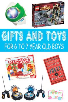 Best Gifts For 6 Year Old Boys In 2017