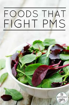 Three foods that are good for fighting PMS!