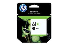 HP 61/61XL Ink Cartridges--Black and Color