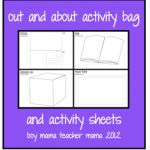 """Boy Mama: Our """"Out and About"""" Activity Bag and Activity Sheets"""