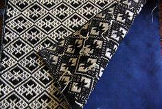 Kogin ancien de famille - Souvent réalisé à part et appliqué sur le vêtement