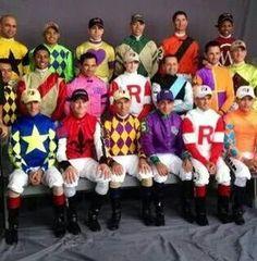 Kentucky Derby 2014 official portrait of the derby jockeys