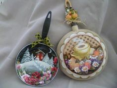 sartenes Painting Tools, Tole Painting, Paint Recycling, Kitchen Paint, Kitchen Ware, Kitchen Utensils, Jar Centerpieces, Country Paintings, Antique Paint
