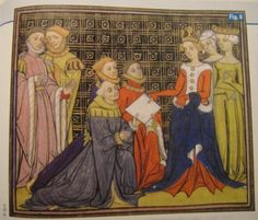 France, end of 14th century, Froissart's Chronicle?
